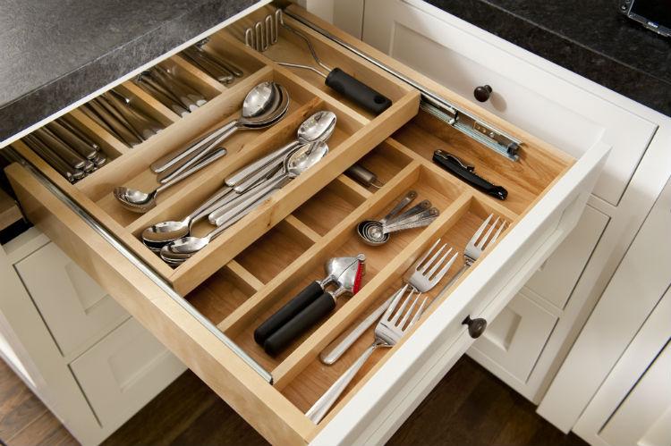 Home Organization Houston Organized Kitchen Drawer